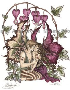 BELOVED fairy romance 85x11 PRINT by Amy Brown by AmyBrownArt, $14.00