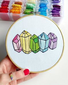 sosuperawesome: Embroidery Hoops by West Coast Creator on...