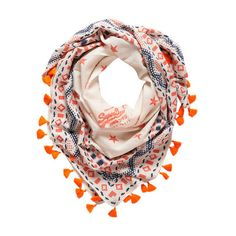 Henderson Scarf ($15) ❤ liked on Polyvore featuring men's fashion, men's accessories, men's scarves, scarves, accessories, bufandas, pattern and white