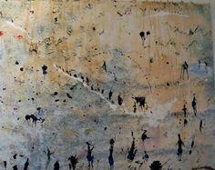 Miquel Barcello - Afrique.Pin it : Anónimo de la Piedra.