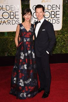 He was nominated for playing real-life hero Alan Turing in The Imitation Game, but he came to the red carpet looking like the real-life James Bond.   Benedict Cumberbatch Won Most Charming At The Golden Globes