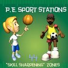 """SKILLTASTIC""!!! The following 44 ""sport-specific"" stations (and corresponding Station Cards) have been created as an aid for a PE Teacher, Classro..."
