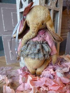 Купить Тедди- Слоник Сюзанна - бледно-розовый, слоник тедди, слоник в подарок, слоник девочка