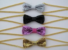 glitter mini bow bracelets by seesong designs! Love her jewley so much!! :)
