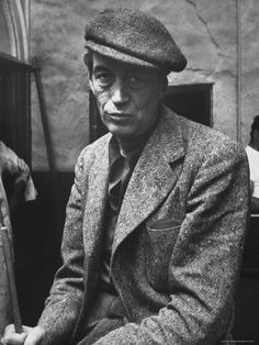 """Film Director John Huston, During Filming of Movie """"Moby Dick"""""""