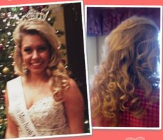 Pageant hair.