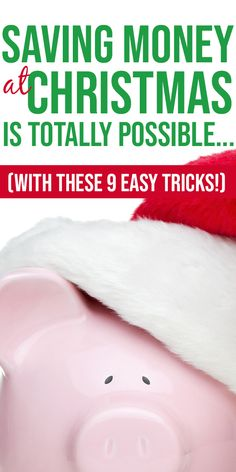 Frugal Christmas Ideas - save money at Christmas this year and stay on budget with these easy money saving tips for the holidays! Holiday Money, Cheap Holiday, Money Saving Challenge, Money Saving Tips, Saving Ideas, Christmas On A Budget, Christmas Shopping, Christmas Holiday, Christmas Ideas