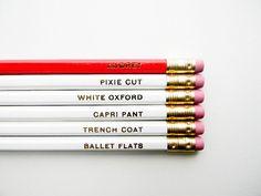 For @Abbie Asuncion and other fans: Audrey Hepburn Pencils