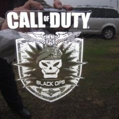 Jeep Wrangler Call of Duty Black Ops Emblem Decal