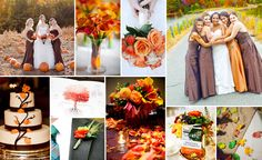 Fall Wedding Colors.