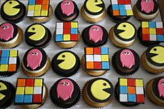 80's cupcakes by Sandy's Cakes