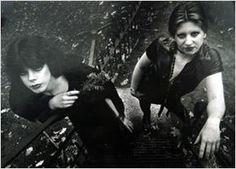 young Lydia Lunch and her friend Laurie in 1973