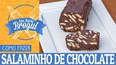 COMO FAZER SALAMINHO DE CHOCOLATE | Ana Maria Brogui #406