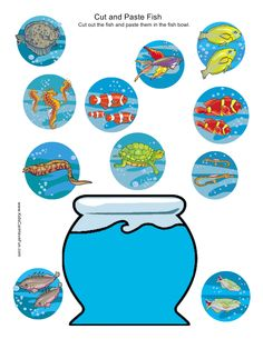 Cut and Paste Fish Bowl