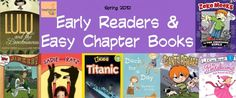 Are your children reading books, yet? Here is Melissa's list {at the Imagination Soup blog} of suggested early readers and chapter books for Spring reading! What does your young child enjoy reading?