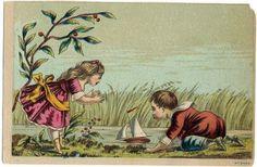 Victorian Trade Card blank back   Flickr - Photo Sharing!