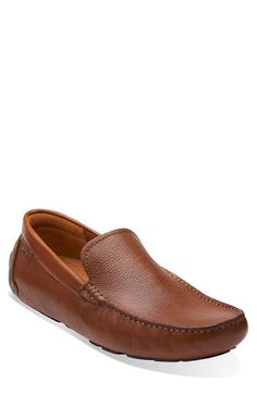 Clarks® Originals Clarks® 'Davont Drive' Leather Driving Shoe (Men) available at #Nordstrom