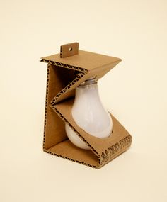 Environmentally Friendly Light Bulb Design by Esther Li, via Behance