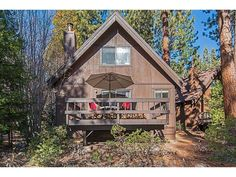 SOLD! 930 Fairway Park #30 - Offered for $347,500  Super cute Tahoe cabin with all the amenities of Incline Village! Located just a few blocks from the Championship Golf Course & a 3-minute drive to the lake. This cabin has a quiet serene setting overlooking a lovely tree-lined open area. Living room has wood beamed ceilings, newer wood stove, and access to private deck. 1 bedroom & bath on entry level. 2 bedrooms with peaked wood ceilings and 1 bath upstairs. Don't miss this quaint Tahoe…