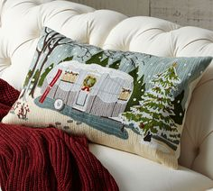 pottery barn christmas pillows | Simply enter via the form at the bottom of this post, and we'll ...