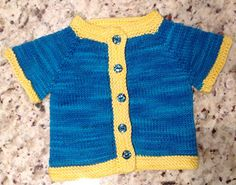 b708633a30f6 Ravelry  Fuss Free Baby cardigan pattern by Louise Tilbrook