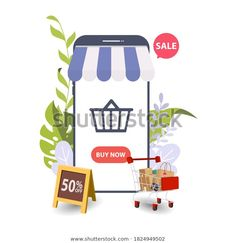 Online Cashback Concept Happy People Receiving Stock Vector (Royalty Free) 1824949502 Happy People, Image Now, Royalty Free Stock Photos, Banner, Concept, Illustration, Banner Stands, Illustrations, Banners