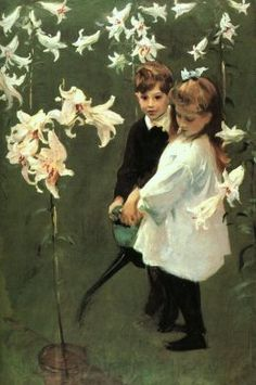 John Singer Sargent - Study of the Vickers' Children