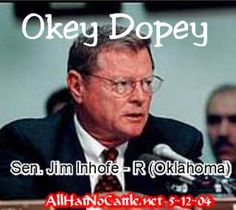 Senator Jim Inhofe: Oklahoma Tornado Aid Will Be 'Totally Different' From Sandy Aid ( Funny how they change their tune when they need money)