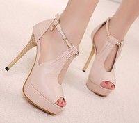 Wish   fashion 2013 spring new platform pumps high heels buckle girls sandals women shoes woman chain open toe SXX32610