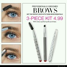 Unbeatable OFFER! Get the perfect arch with these brow essentials, ONLY $4.99 with a qualifying purchase!Offer ends: May 3, 2017