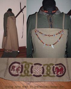 Viking Apron dress by BraveAnimal.deviantart.com