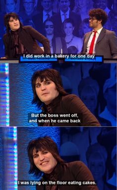 Noel Fielding ~ Shiana, imagine this is what you'd do