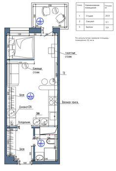 Small Apartment, Floor Plan