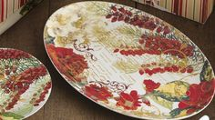 Rosanna Botanical Holiday Platter by