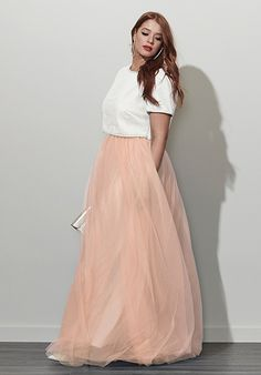 Plus Size Designer Formal | Tulle Bettie Dress #plussizefashion