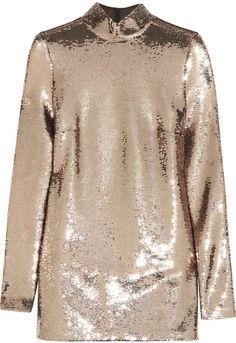 SHOP | Sequined Chiffon Tunic