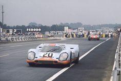 Le Mans, France. 13 - 14 June 1970. Jo Siffert/Brian Redman (Porsche 917K)…