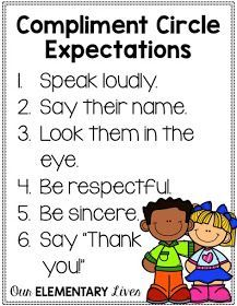 Compliment Circles: Creating a Kind & Respectful Classroom-Teach your students how to give and receive compliments. A great activity to build character for your classroom. Perfect for any grade, this character development activity is sure to be a hit and First Grade Classroom, Classroom Behavior, Future Classroom, Circus Classroom, Classroom Ideas, Social Emotional Learning, Social Skills, Social Work, Social Media