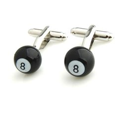 Latest additions to our shop: Pool Ball Number 8, see it here: http://cuffmenow.com/products/pool-ball-number-8 #cuffmenow
