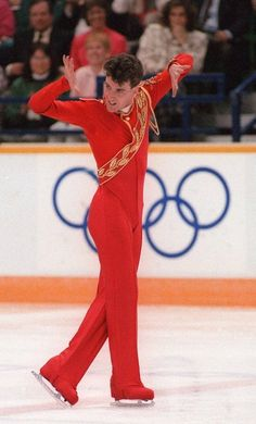 Canadian figure skater Brian Orser - Now he is an amazing coach - his skaters are top in the world.