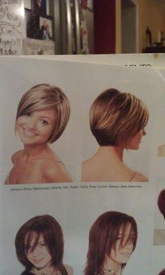 Hair Styles on Pinterest | Short Hair Styles, Bob Hairstyles and Short ...