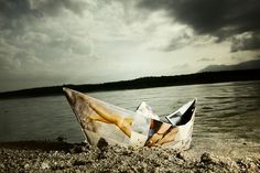 Entre las barcas  © Rafa Cabal