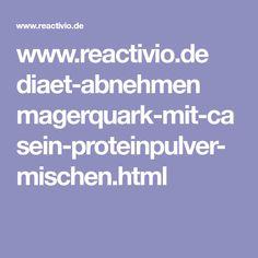 www.reactivio.de diaet-abnehmen magerquark-mit-casein-proteinpulver-mischen.html