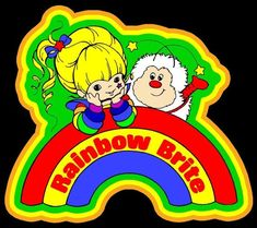 Cartoon Classic Rainbow Brite & Sprite custom tee Any Size Any Color Printable Coloring Pages, Colouring Pages, Camera Art, Image T, Rainbow Brite, Picture Logo, Classic Cartoons, Custom Tees, Rainbow Baby