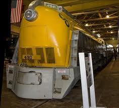 Chesapeake and Ohio Railroad 4-6-4 steam-turbine locomotive.