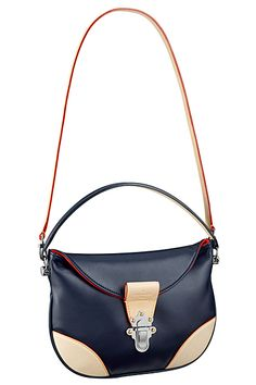 Louis Vuitton Blue Moon Besace Taiga GM Bag 2 - Spring 2015