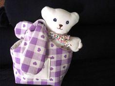 bear in a bag
