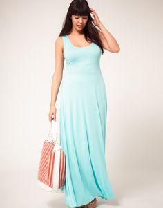 ASOS CURVE Exclusive Jersey Maxi Dress