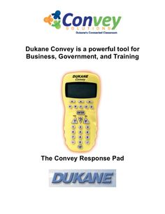 dukane-convey-for-business-and-training by SchoolVision Inc. via Slideshare