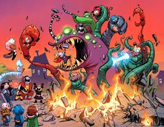 Preview: Giant Size: Little Marvel: AvX #1, Page 4 of 5 - Comic Book Resources